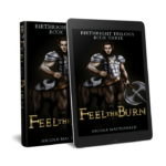 Feel the Burn, Book three BirthRight Trilogy, Kindle version, epub version, Nicole MacDonald